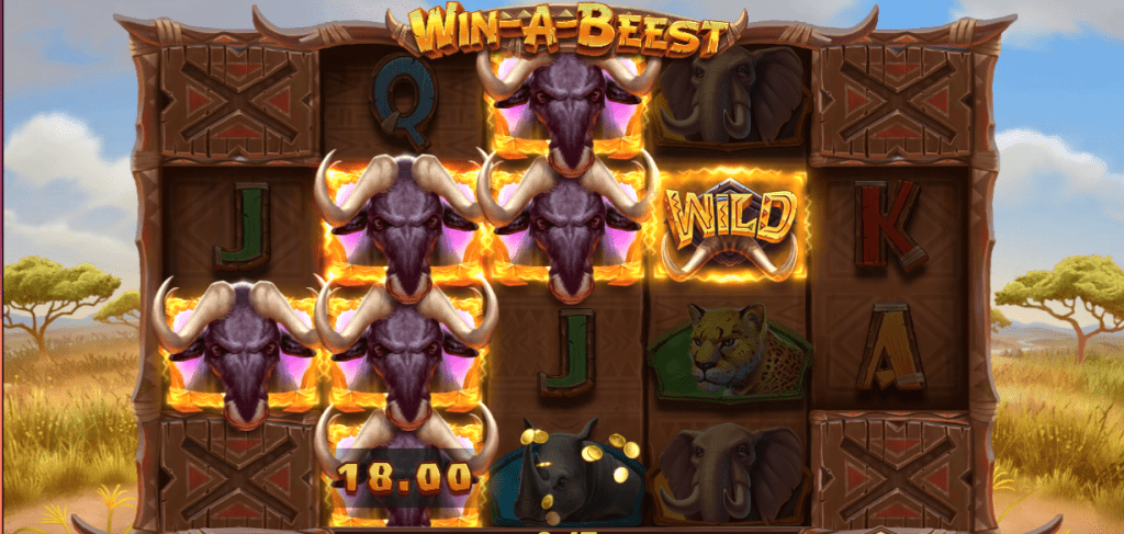 Win a Beest Slot by play n go