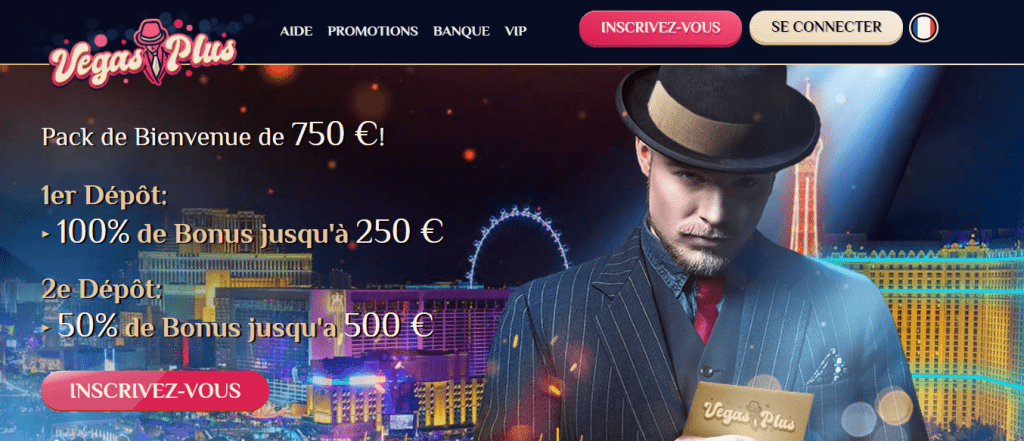 Vegas Plus Welcome offer