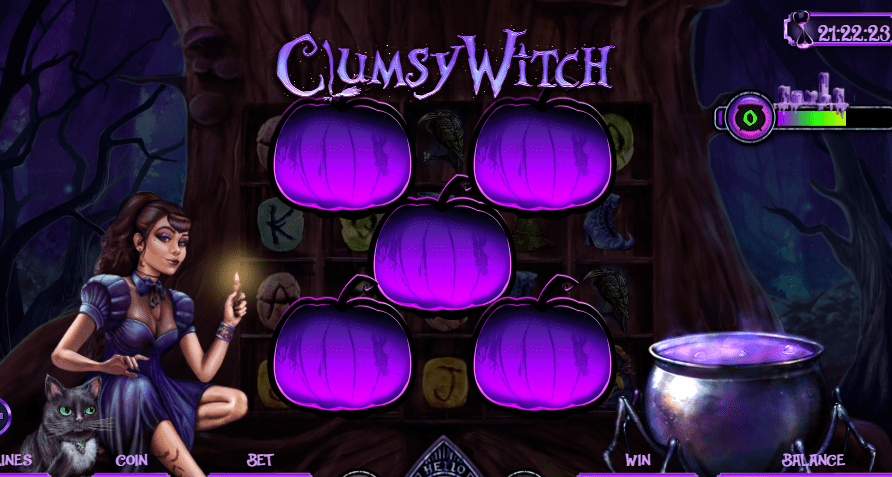 Clumsy Witch