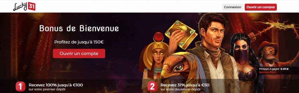 Lucky31 casino Software providers of 2021